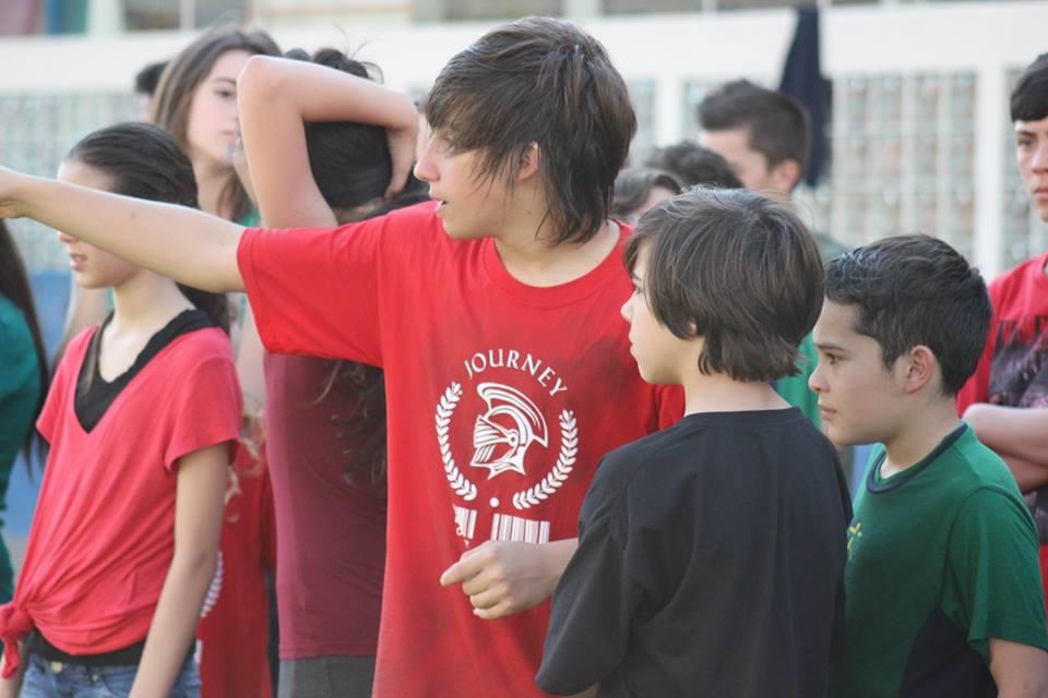 Crianças e adolescentes no Programa CEDUCA Journey