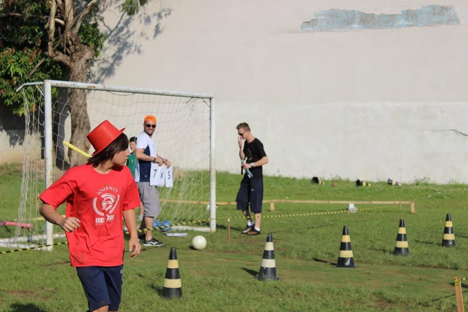 Futebol no Programa CEDUCA Journey